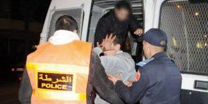 أنفا.. توقيف سبعة أشخاص متورطين بإلحاق خسائر مادية بممتلكات خاصة وخرق أحكام حالة الطوارئ الصحية