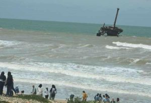انتشال 3 جثث لمهاجرين سريين بشاطئ الحوزية واحتمال ضحايا آخرين