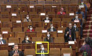 صورة شباط في مجلس النواب تقربل مواقع التواصل الاجتماعي!!!