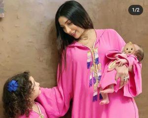 دنيا بطمة تعد جديدها بعد معاناة مع ابنتها الصغيرة