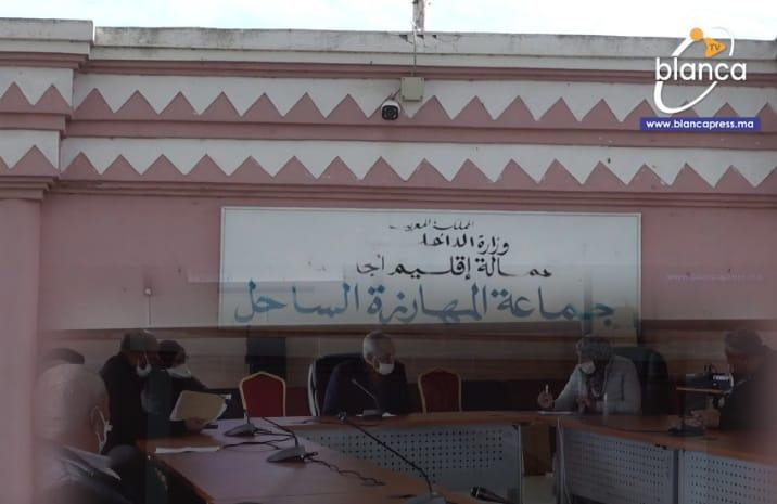 الجديدة.. نواب ومستشارون بجماعة المهارزة يقلبون الطاولة على الرئيس ويحددون مصير صفقة الطرق