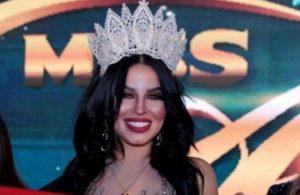 تتويج المغربية إلهام بالمخفي بلقب ملكة جمال العرب لسنة 2020