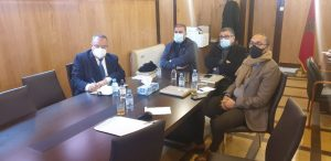 مكتب جهة الدار البيضاء يلتئم عن بعد للإعداد لدورة مارس