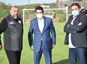 عامل إقليم الجديدي يحفز فريق الدفاع الحسني الجديدي على تحقيق نتائج إيجابية