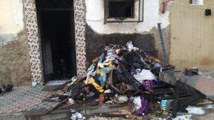 """حريق بمنزل ب""""درب الفقراء"""" يتسبب في وفاة 8 أشخاص"""