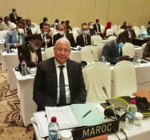 الدكتور محمد بنجلون يمثل المغرب في مؤتمر اتحاد البرلمان الإفريقي