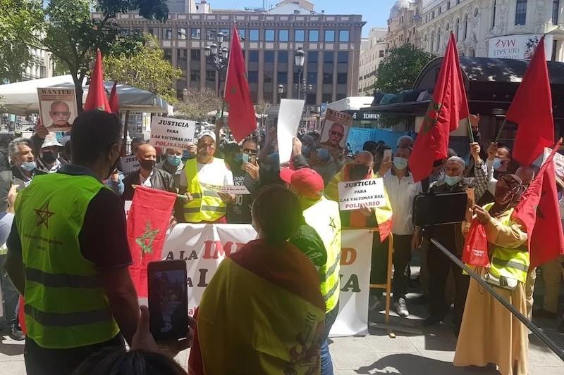 وقفة احتجاجية في إسبانيا للمطالبة بمحاكمة زعيم البوليساريو